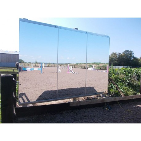 8ft x 4ft Mirror for Training