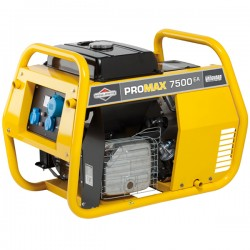 7500A Professional Portable Generator with E-Start - B&S ProMax