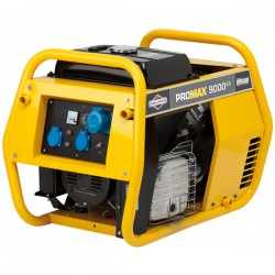 9000A Professional Portable Generator with E-Start - B&S ProMax