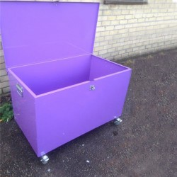 Mobile Blanket Box (Colour)
