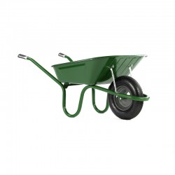 90L Original Green Wheelbarrow - Pneumatic Wheel