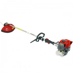 26.3cc Petrol Brushcutter with Loop Handle and Kawasaki Engine