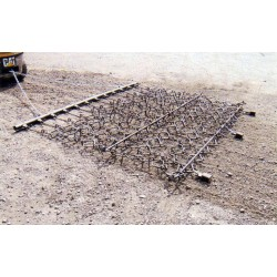 10ft Trailed Flexible Chain And Spike Harrow