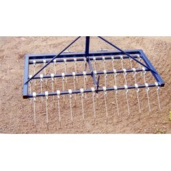 2m Smallholder Mounted Spring Tine Grass Harrow
