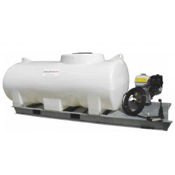 4000L Pressure Washer Skid Unit