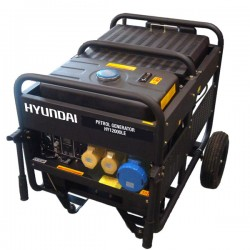 Petrol Generator 10kW/12.5kVA - 115v/230v Long Run Tank Electric Start