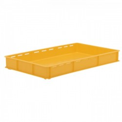 Stacking Container 90mm high - Slots sides & Perforated Base