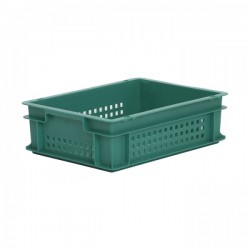 Stacking Container 11L - Perforated Side with Hand Grips