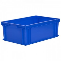 Stacking Container 43.8L - Solid with Hand Grips