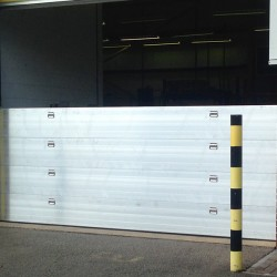Nautilus Flood Barrier 2450mm wide (with Compression Post)