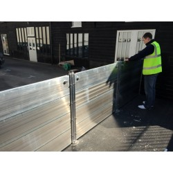 WaterWall Flood Barrier 7200 - 8000mm wide