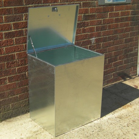 Heavy Duty 1 Compartment Galvanised LARGE Feed Bin