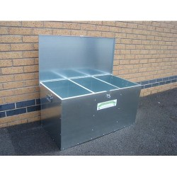 3 Compartments 250 Litres Medium Feed Bin