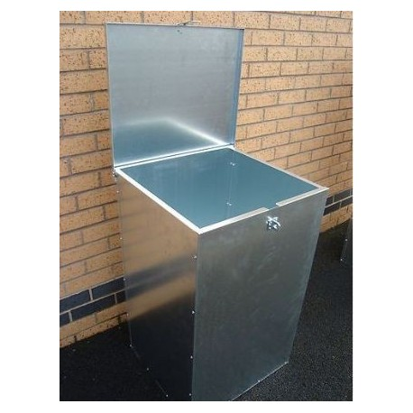 1 Compartment 330 Litres Lockable Feed Bin