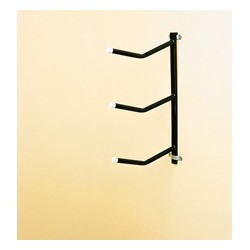 Removable Clip on Saddle Rack- triple arm