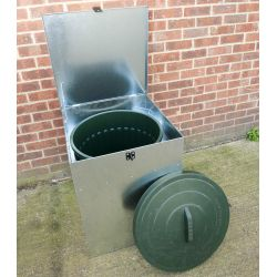 Heavy Duty Water /Rodent Proof Storage Bin 100L
