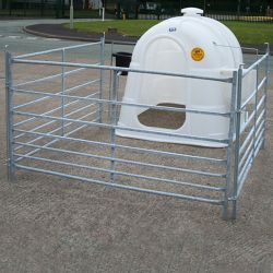 Large Calf Hutch Package