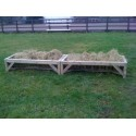 Horse Hay Rack - Feeder - 8ft x 18 inches
