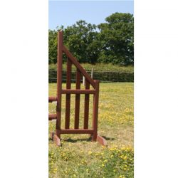 Picket Wing 5ft (Pair) Rustic