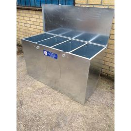 4 Compartments Medium Height Feed Bin