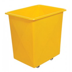 Tapered Truck 600 ltr Plywood Base Single Lip