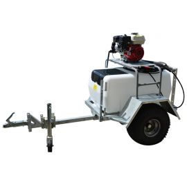 200L Trailer Mount Interpump Pressure Washer Unit - 11L/min - 2100Psi