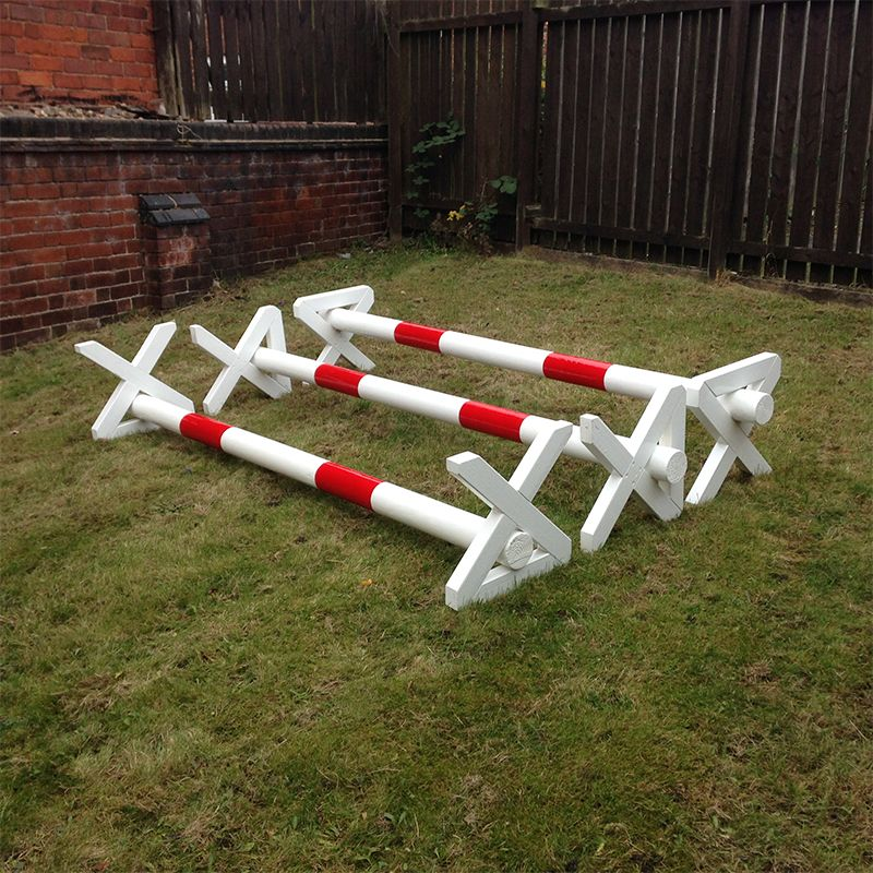 Box Jumps For Sale >> Rustic Cavaletti Poles - Set Of 3 - Horse Jumps For Sale