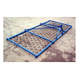 14ft Mounted Single Tine Flexible Heavy Grass Chain Harrow