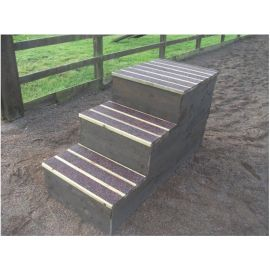 Deep Step Traditional Mounting Block ( Anti Slip)