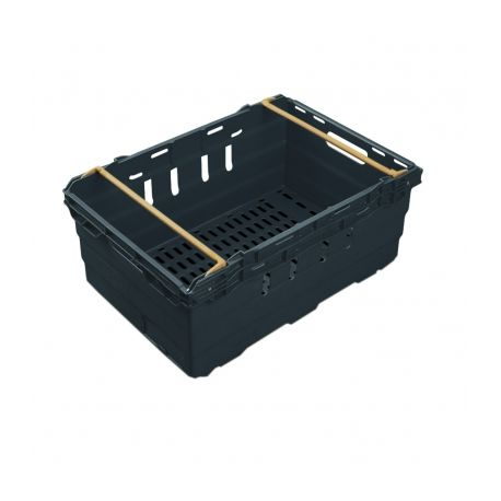 Heavy Duty Ventilated Supermarket Crate - 44L