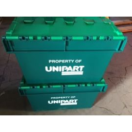 64L Tote Box - Printed with 'Unipart'