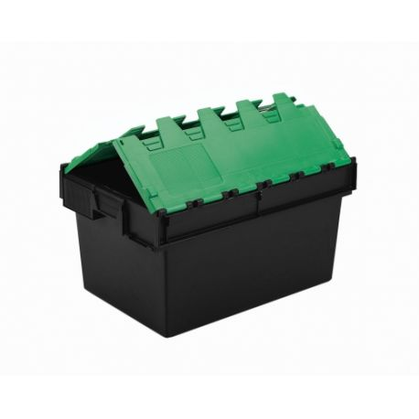 64L Attached Lid Container