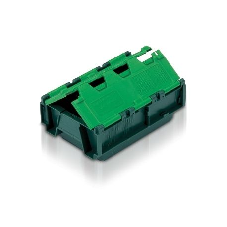 Tote Box, Attached Lid Container - 4L