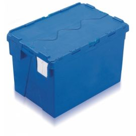 70L Tote Box, Attached Lid Container (Kaiman)