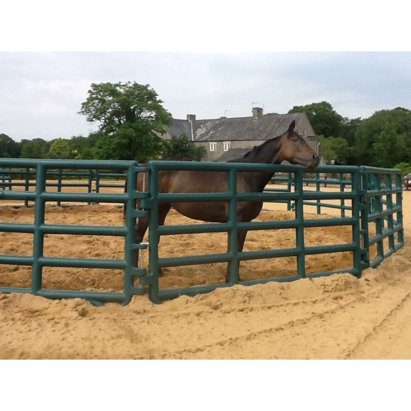 Box Jumps For Sale >> Corral Pen System - Paddock Pen - Lunge Ring (15 Panels and gate) - Horse Jumps For Sale