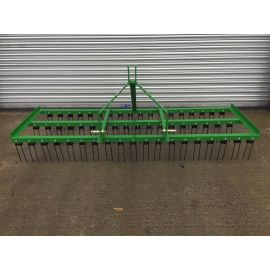5ft Wide Spring Tine Harrow (3 Rows)
