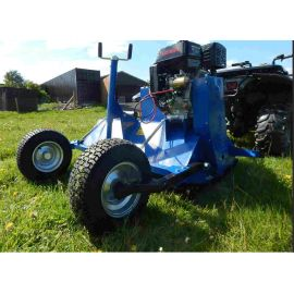 4ft ATV Flail Mower - 15hp Tow Behind