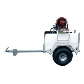 200 Litre Pro Trailer Sprayer - 12L/min Spray Marshal Pump - 30m Hose Reel