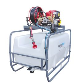200 Litre Pro Skid Sprayer - Honda GX35 - 12L/min (360PSI) Spray Marshal Pump - 30m Hose Reel