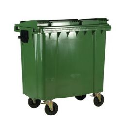 4 Wheeled Bin with Non-Lockable Lid - 770L