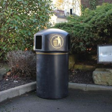 145L Spacebin - Recycled with Gold Logo