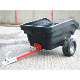 Plastic Hopper Tipping Trailer 300L