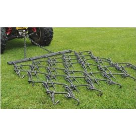 4' Chain Harrow trailed - Double Length Mat