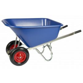 Twin Wheel Wheelbarrow 200L - Assembled