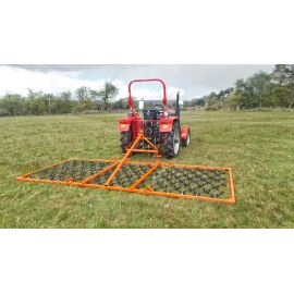 12ft Folding Mounted 3 Way Harrow (11mm)