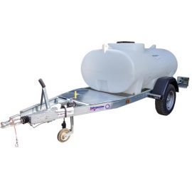 1200L HighwayTow Trailer Mounted Water Bowser - Single Axle