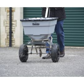 100lbs / 45kg Push Salt Spreader