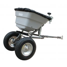 80lbs / 36kg Push Salt Spreader