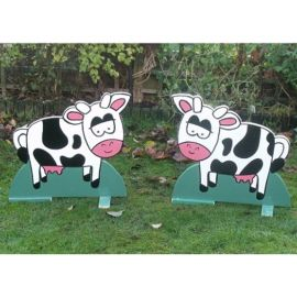 Pair of Spooky Cows