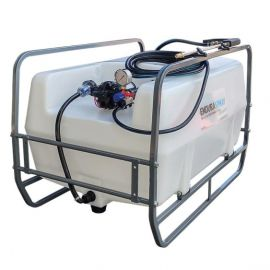 200L Pro Skid Sprayer with 19L/min Pump - 30m Manual Rewind Hose Reel & Hand Lance